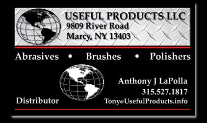Anthony J LaPolla Useful Products LLC Marcy NY